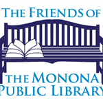 Friends of Monona Public Library Bench Logo