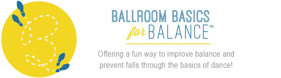 Ballroom Basics for Balance Logo
