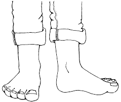 feet times two