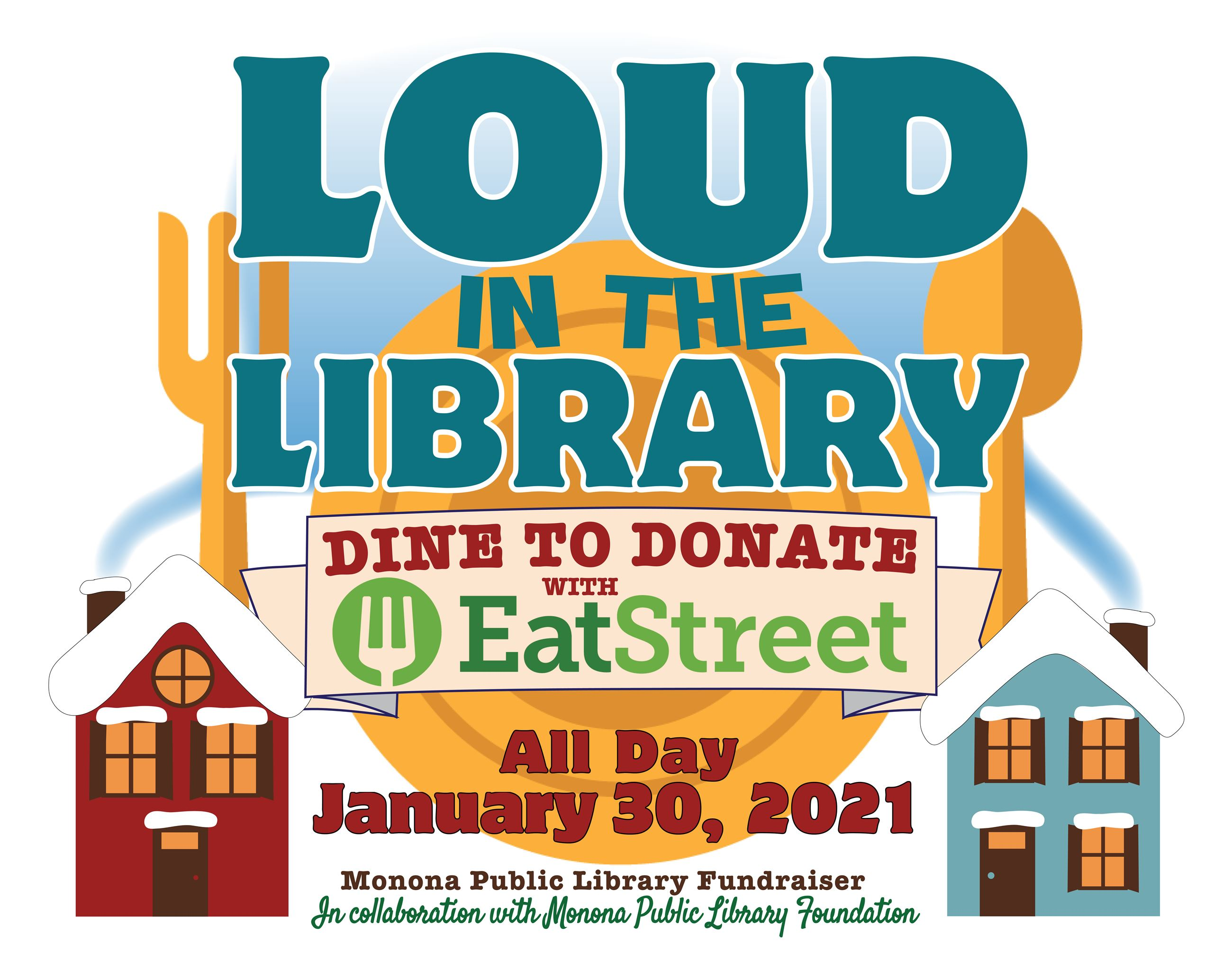 Loud in the Library 2021_Dine to Donate