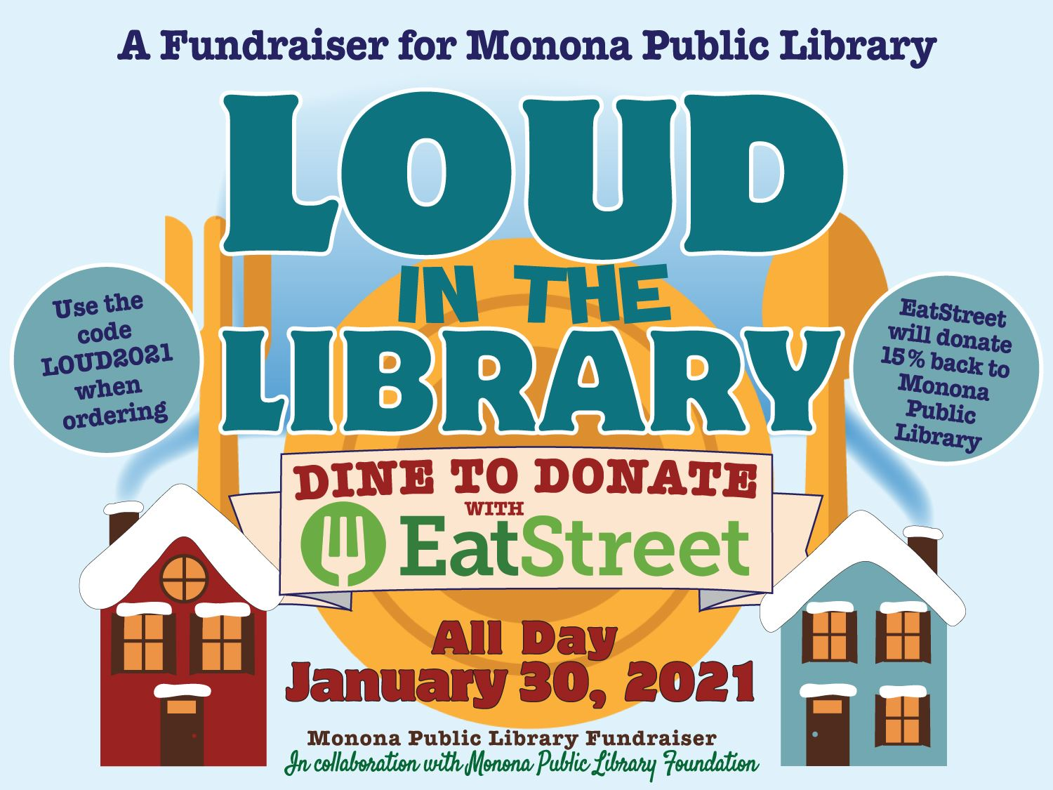 Loud in the Library 2021_Dine to Donate_Eat Street