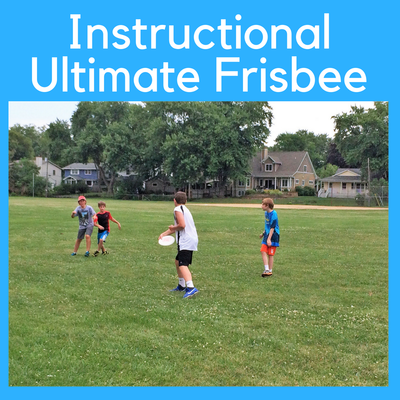 Instructional Ultimate Frisbee