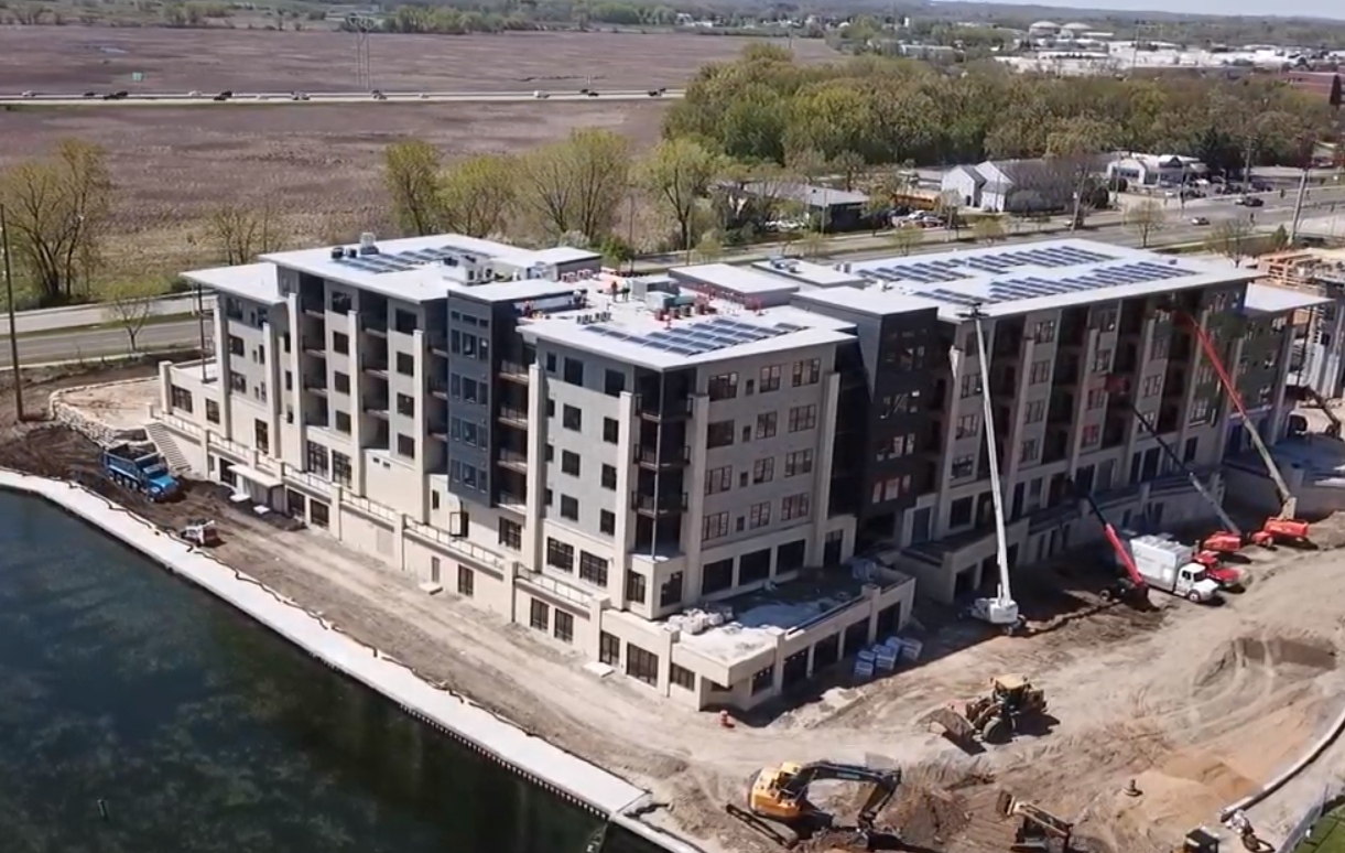 The Current - Monona Riverfront Drone Video May 14, 2019