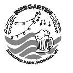 Pop Up Biergarten at Schluter Park logo